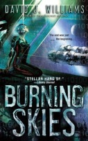 The Burning Skies by David J. Williams