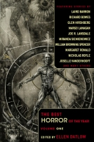 The Best Horror of the Year: Volume One by
