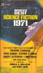 World's Best Science Fiction: 1971 by