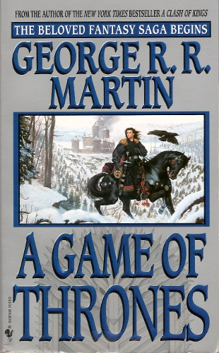 game of thrones book. of which A Game of Thrones