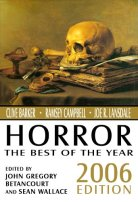 Horror: The Best of the Year: 2006 Edition by